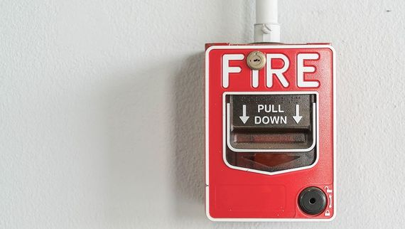 image of fire alarm